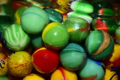 Marbles Contained in a Jar (Zoom Lens) Tags: macromondays contained marblescontainedinajar marbles micro macro hmm
