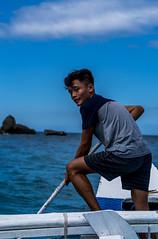 Puerto Galera-135 (walterkolkma) Tags: philippines mindoro island beach corals puertogalera whitebeach aninuan tamaraw banca outrigger boat ship sunny skies palm kolkma sony a7iii