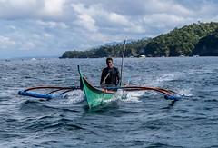 Puerto Galera-55 (walterkolkma) Tags: philippines mindoro island beach corals puertogalera whitebeach aninuan tamaraw banca outrigger boat ship sunny skies palm kolkma sony a7iii