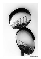 """""""Dans Les Traces Du Poulpe Ou Pour L'Attendrir Faut Taper Dessus... 22"""" (TBWLC Photography) Tags: fdrouet tbwlc nb bw monochrome street reflet reflection nikon d750 saintnazaire penhoët"""