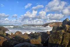 3924_wild_sea (Realmantis) Tags: wild sea storm ocean wave rock cloud scape waterscape