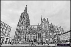 KÖLNER DOM (01dgn) Tags: kölnerdom köln stadtköln nrw holy holiday bw sw sb weitwinkel wideangle canoneos700d