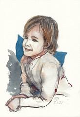 Sonsoles (P.Barahona) Tags: retratos niños dibujo