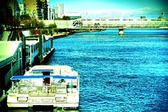 i wish you good luck (sugar-leg) Tags: sea trip start ship outside outdoor