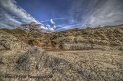 Sand Mountains (Michael F. Nyiri) Tags: leocarillostatebeach california southerncalifornia malibuca seacoast sand sky rockpaper