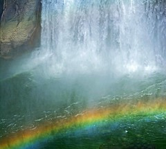 """Somewhere over the rainbow, skies are blue And the dreams that you dare to dream really do come true"" ~~Harold Arlen / E. Harburg/lyrics from The Wizard of Oz (Irene2727) Tags: shoshonefalls waterfalls idaho water rainbow coth5"
