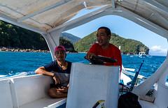 Puerto Galera-45 (walterkolkma) Tags: philippines mindoro island beach corals puertogalera whitebeach aninuan tamaraw banca outrigger boat ship sunny skies palm kolkma sony a7iii