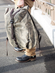 PC211102 (a9825bon) Tags: ol olympus em1 m43 75mm 1240 jeansda redwing 9268 oris 65 workpants leathercap family selfie 兒童新樂園 帥爸 shuaibar wontancraft nomad