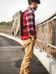 PC211028 (a9825bon) Tags: ol olympus em1 m43 75mm 1240 jeansda redwing 9268 oris 65 workpants leathercap family selfie 兒童新樂園 帥爸 shuaibar wontancraft nomad