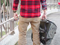 PC210878 (a9825bon) Tags: ol olympus em1 m43 75mm 1240 jeansda redwing 9268 oris 65 workpants leathercap family selfie 兒童新樂園 帥爸 shuaibar wontancraft nomad