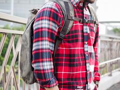 PC210781 (a9825bon) Tags: ol olympus em1 m43 75mm 1240 jeansda redwing 9268 oris 65 workpants leathercap family selfie 兒童新樂園 帥爸 shuaibar wontancraft nomad