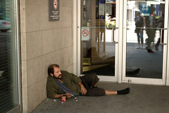 No Smoking (klauslang99) Tags: klauslang streetphotography toronto no smoking person man poor