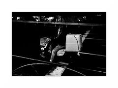 Tokyo - Marunouchi (Punkrocker*) Tags: leica m7 summicron asph 35mm 352 film kodak trix pushed 1600 nb bwfp monochrom bnw street city people night tokyo marunouchi japon japan nippon travel