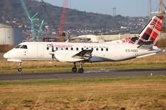 Loganair ES-NSD BHD 03/01/20 (ethana23) Tags: planes planespotting aviation avgeek aircraft aeroplane airplane saab 340 loganair
