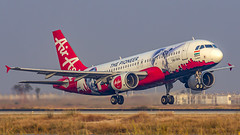 """Air Asia India Airbus A320 VT-JRT """"JRD Tata"""" Bangalore (BLR/VOBL) (Aiel) Tags: airasia airasiaindia airbus a320 vtjrt jrdtata bangalore bengaluru canon60d tamron70300vc"""