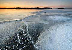 Frozen lake (Kimmo Järvinen) Tags: sunset lake winter snow ice landscape suomi finland kitee nikon d500 tokina tokina1116mm nature maisema pohjoiskarjala scandinavia cokin filter tokina1116mmf28 atx116prodx