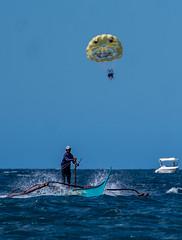 Puerto Galera-77 (walterkolkma) Tags: philippines mindoro island beach corals puertogalera whitebeach aninuan tamaraw banca outrigger boat ship sunny skies palm kolkma sony a7iii