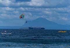 Puerto Galera-129 (walterkolkma) Tags: philippines mindoro island beach corals puertogalera whitebeach aninuan tamaraw banca outrigger boat ship sunny skies palm kolkma sony a7iii