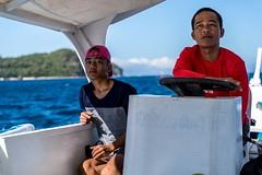 Puerto Galera-53 (walterkolkma) Tags: philippines mindoro island beach corals puertogalera whitebeach aninuan tamaraw banca outrigger boat ship sunny skies palm kolkma sony a7iii