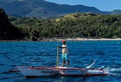 Puerto Galera-46 (walterkolkma) Tags: philippines mindoro island beach corals puertogalera whitebeach aninuan tamaraw banca outrigger boat ship sunny skies palm kolkma sony a7iii