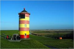 Der Pilsumer Leuchtturm - The Lighthouse Pilsum (h.bresser) Tags: leuchtturm lighthouse pilsum niedersachen deutschland germany hbresser hartmutbresser ostfriesland