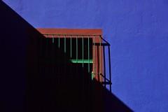 Coyoacan - Casa Azul 3 (luco*) Tags: mexique méxico mexico ciudad de ville city cdmx coyoacan casa azul museo frida kahlo mur wall fenêtre window