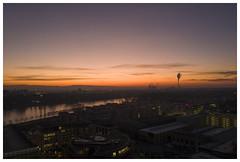 Ludwigshafen / Mannheim (Yorck-Hochhaus) (epha) Tags: aerialview aussicht ludwigshafenamrhein luftansicht mannheim panorama rhein rheinlandpfalz sonnenaufgang ausblick