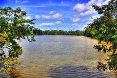 Siem Reap K - Bayon water trench 02 (Daniel Mennerich) Tags: siemreap cambodia khmer angkor canon dslr eos hdr hdri spiegelreflexkamera slr