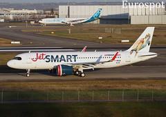 F-WWDM Airbus A320 Neo Jet Smart (@Eurospot) Tags: airbus a320 neo toulouse blagnac fwwdm ccawo jetsmart 9476