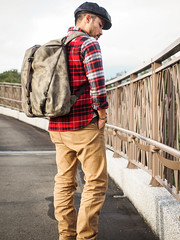 PC211011 (a9825bon) Tags: ol olympus em1 m43 75mm 1240 jeansda redwing 9268 oris 65 workpants leathercap family selfie 兒童新樂園 帥爸 shuaibar wontancraft nomad