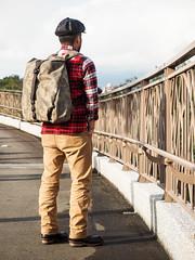 PC210982 (a9825bon) Tags: ol olympus em1 m43 75mm 1240 jeansda redwing 9268 oris 65 workpants leathercap family selfie 兒童新樂園 帥爸 shuaibar wontancraft nomad