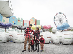PC210592 (a9825bon) Tags: ol olympus em1 m43 75mm 1240 jeansda redwing 9268 oris 65 workpants leathercap family selfie 兒童新樂園 帥爸 shuaibar wontancraft nomad