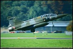"""MIRAGE 2000"" D 639 3-XQ EC3/3 Ardennes BR44 Stans Buochs octobre 1999 (paulschaller67) Tags: mirage2000 d 639 3xq ec33 ardennes br44 stans buochs octobre 1999"