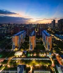 Cityvue Sunset (hjbyeo) Tags: cityvue sunset singapore cityscape sony