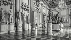 Roman City Museum Gallery View (ken mccown) Tags: capitolinemuseum museicapitolini architecture museum statue statues sculpture rome roma italy