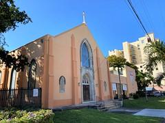 La Iglesia Del Espiritu Santo Church Little Havana (Phillip Pessar) Tags: architecture building church la iglesia del espiritu santo little havana miami holy comforter episcopal
