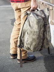 PC211131 (a9825bon) Tags: ol olympus em1 m43 75mm 1240 jeansda redwing 9268 oris 65 workpants leathercap family selfie 兒童新樂園 帥爸 shuaibar wontancraft nomad