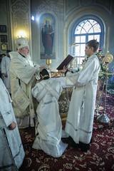 06 января 2020, В Рождественский сочельник митрополит Кирилл совершил хиротонию студента заочного отделения