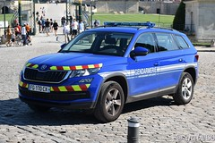 Gendarmerie Nationale (rescue3000) Tags: skoda kodiaq 4x4 gendarmerie nationale départementale national departmental véhicule capacité moyenne medium capacity vehicle scorbel voiture emergency škoda