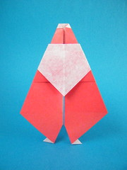 Papá Noel - Manuel Carrasco (Rui.Roda) Tags: origami papiroflexia papierfalten santa claus pai natal papai père papá noel manuel carrasco