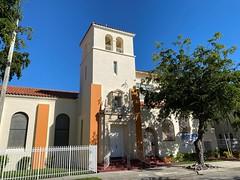 Riverside United Methodist Church Little Havana 1941 (Phillip Pessar) Tags: riverside united methodist church little havana miami architecture building 1941