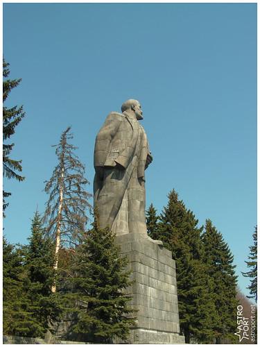 Гігантська статуя Леніна в Дубні, Московська область 05 InterNetri