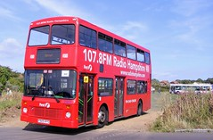 31825 P925RYO (PD3.) Tags: bus buses hampshire hants england uk gosport lee solent stokes bay station fareham provincial society preserved vintage coach seafront sea front nv125 nv 125 31825 p925ryo p925 ryo london general
