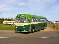 370 XHO370 (PD3.) Tags: bus buses hampshire hants england uk gosport lee solent stokes bay station fareham provincial society preserved vintage coach seafront sea front aldershot district aec reliance weymann 370 xho370 ho