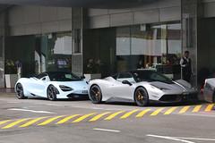 SDP1R, Marina Mandarin Hotel, Singapore, October 14th 2018 (Southsea_Matt) Tags: marinamandarinhotel singapore october 2018 autumn canon 80d sigma 1850mm transport vehicle supercar ferrari sdp1