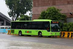 SG1200X, Raffles Avenue, Singapore, October 14th 2018 (Southsea_Matt) Tags: sg1200x route36 goahead sgbus rafflesavenue singapore october 2018 autumn canon 80d sigma 1850mm bus omnibus transport vehicle mercedesbenz o530le citaro