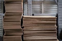 (006 of 366) Cardboard Towers (CarusoPhoto) Tags: fuji fujifilm fx 35mm f14 r fx35mmf14r xt3 cardboard shapes patterns 366 project 365 project365 project366