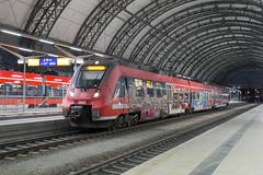 DB Regio 442 547 Dresden Hbf (daveymills37886) Tags: db 442 547 dresden hbf baureihe regio