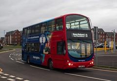 Warrington's Own Buses LJ05LDU (Mike McNiven) Tags: warringtonsownbuses networkwarrington warrington omega warringtonwest railwaystation interchange omegaboulevard vdl wright pulsar gemini pulsargemini wob