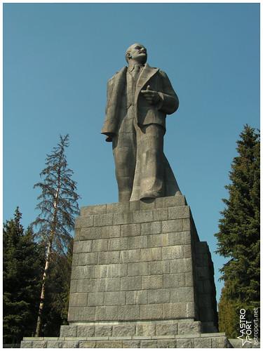 Гігантська статуя Леніна в Дубні, Московська область 09 InterNetri